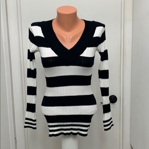 Energie Juniors long sleeve sweater striped